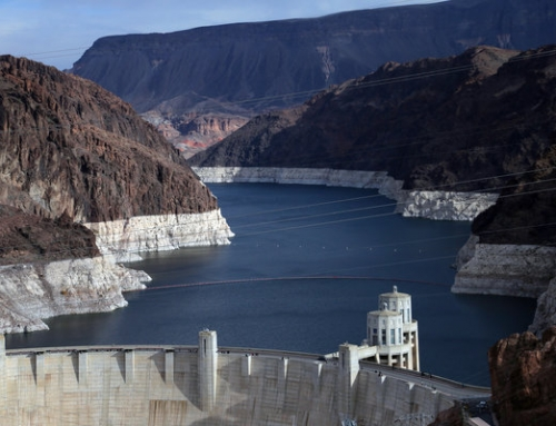 14 yr drought stressing Vegas + Lake Mead, our largest reservoir