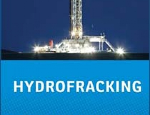 Dropping today: my latest book, a primer on HYDROFRACKING